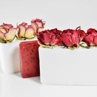 Mydło z różami
