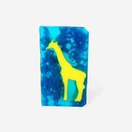Mydło żyrafa w nocy
