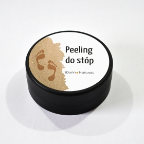 Peeling do stóp 100 % natury