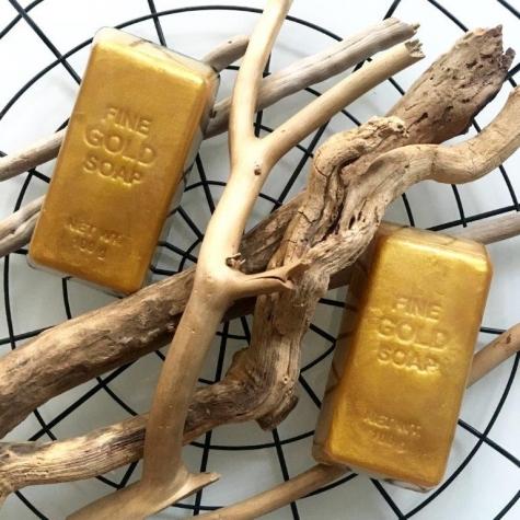 Mydło organiczne  sztabka złota Dla Niego