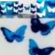 Mydło Niebieskie  motyle 100 g