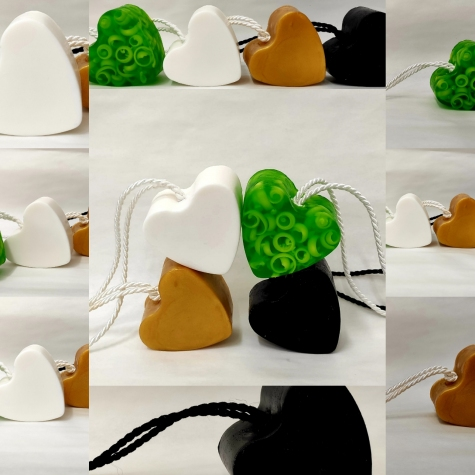 Zestaw serc mydlanych 400 g