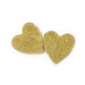 Serce do kąpieli GOLD