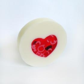 Mydło serce z wiórkami 100  g