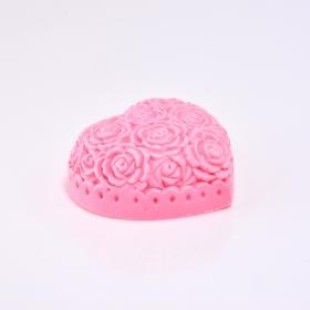 Mydło Rzeźbione serce w różyczki 80 g